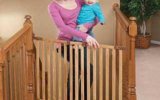Ворота безопасности для детей: детская защита на лестницу своими руками