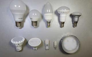 Отличие светодиодного освещения от ламп накаливания
