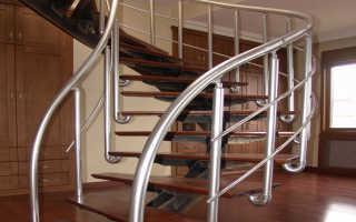 Алюминиевые перила и их конструктивные особенности