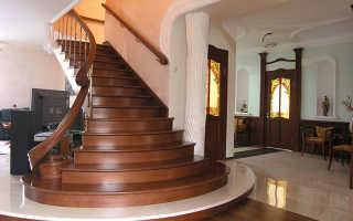 Особенности и монтаж прямой лестницы на 2 этаж