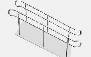 Поручни для инвалидов: изготовление и установка