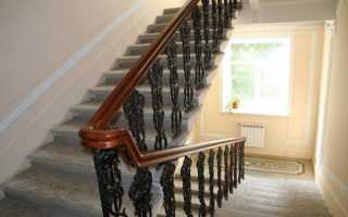 Высота ограждения лестницы: основные параметры и стандарты