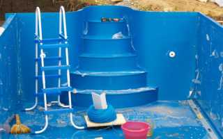 Лестница для бассейна из нержавеющей стали — отличное решение