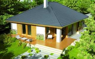 Конструкция вальмовой крыши и ее значение при возведении здания.