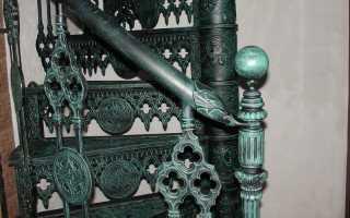 Винтовые лестницы дома (фото): бетонные и готовые