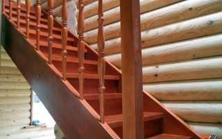 Деревянные лестницы на тетивах своими руками (цена)