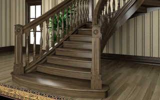 Обзор деревянных лестниц на второй этаж эконом-класса