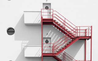 Наружные пожарные лестницы: установка и эксплуатация