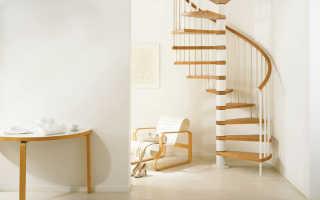 Правильный расчет винтовой лестницы: поэтапная работа