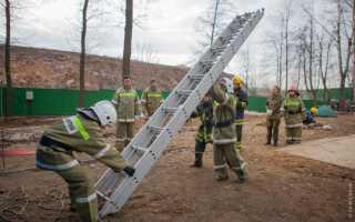 Штурмовка: лестница противопожарная ручная – методы работы
