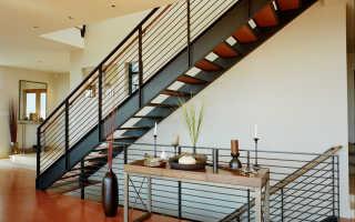 Лестницы на второй этаж на металлическом каркасе: особенности конструкций