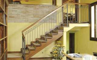 Лестницы на второй этаж в частном доме и типы их конструкций