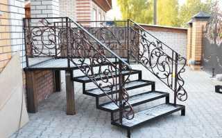 Металлические лестницы для крыльца на металлическом каркасе: как сделать своими руками