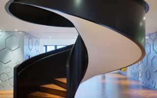 Винтовая лестница на второй этаж: материалы и особенности монтажа