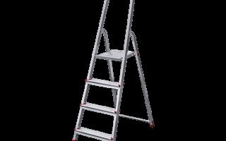Лестница стремянка трехсекционная: цена, виды, предназначение, цена