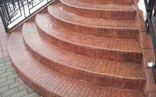 Облицовка ступеней керамогранитом, гранитом, плиткой: как облицевать уличные и полукруглые ступени