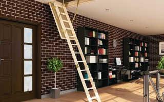Чердачные лестницы с люком своими руками: подробная инструкция