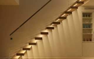 Как сделать автоматическое освещение лестницы?