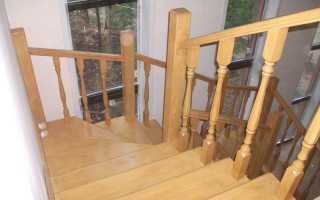Как правильно крепить деревянные балясины к ступеням и к полу (тетиве)