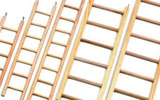 Приставная лестница из дерева своими руками: пошаговая инструкция для изготовления, монтаж