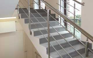 Высота ограждения лестниц по СНиП: стнадартные размеры перил, поручней