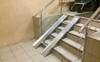 Лестничный подъемник для инвалидов в коляске: бк 325 и бк 350