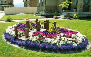 Декоративные ограждения для клумб из металла, дерева, бетона, пластика: заборы для дачи и сада