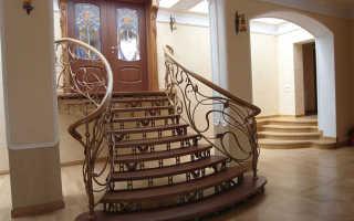 Кованые лестницы в доме – безопасность и привлекательный дизайн