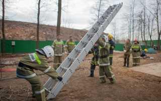 Трехколенная пожарная лестница в работе: особенности конструкции и применение