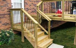 Какой материал выбрать для наружных лестниц?