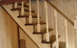 Как закрепить балясины на деревянной лестнице своими силами