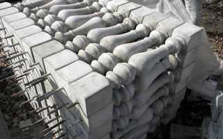 Что нужно знать о балясинах из бетона