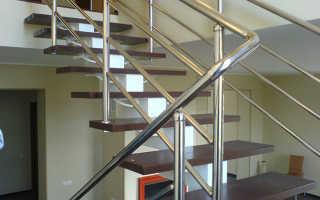 Как сделать лестничные ограждения из нержавеющей стали