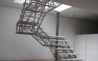 Конструкции лестниц и их особенности