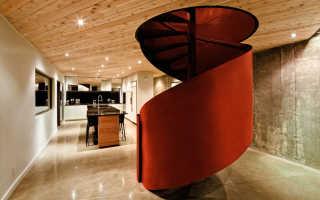 Винтовая лестница: разновидности и оптимальные параметры