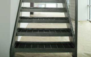 Разновидности металлических ступеней для лестниц в доме