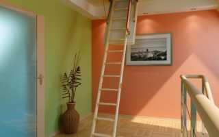 Чердачная лестница с люком: особенности конструкции и советы по монтажу