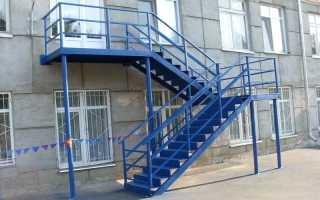 Требования к пожарным лестницам: высота, изготовление, проверка (фото)