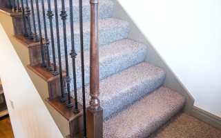 Ковровое покрытие лестниц: некоторые нюансы