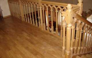Балясины плоские деревянные: фото и цена