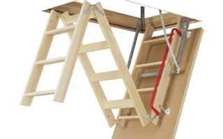 Как установить чердачную лестницу своими руками: пошаговая инструкция