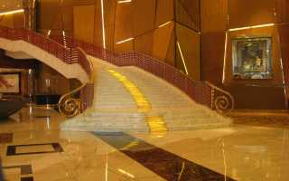 Отделка бетонной лестницы: выбор материала, способы отделки