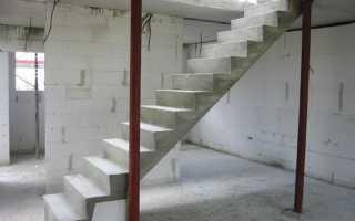 Как делаются бетонные лестницы своими руками