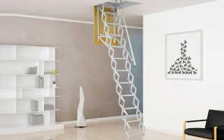 Выдвижная лестница на чердак: нюансы конструкции и правила установки