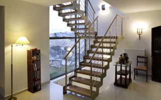 Металлическая лестница на второй этаж своими руками: что нужно знать