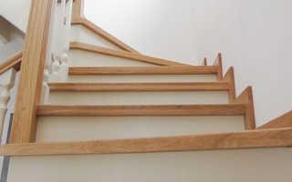 Проступи и подступенки для лестницы из гранита