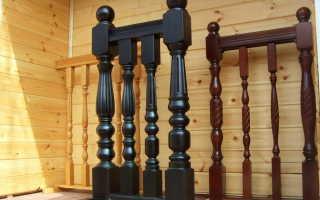 Балясины для лестницы из дерева: виды, преимущества и особенности