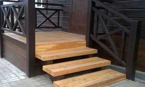 Проектирование лестницы для крыльца