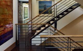 Как определить высоту перил для лестницы