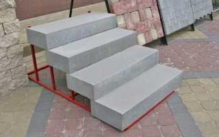 Готовые ступени для лестниц: внутренних и крыльца